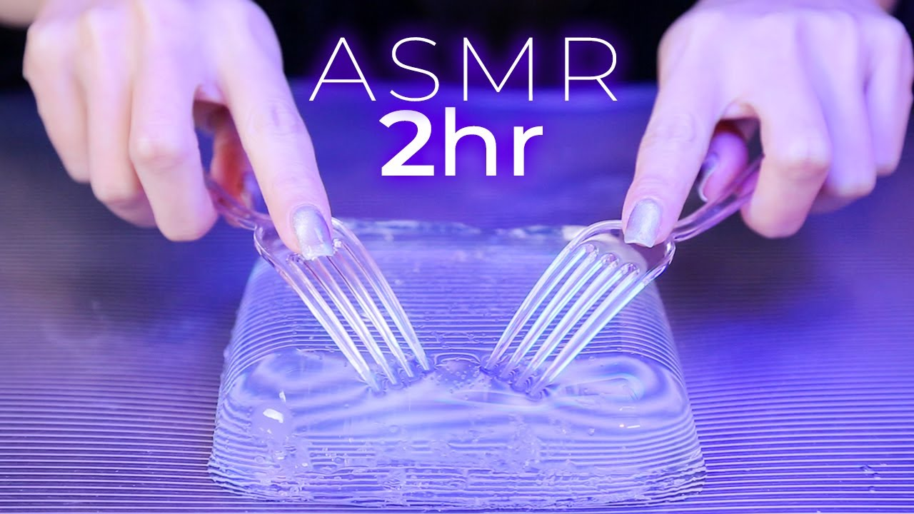 ASMR Crystal Clear Triggers for 100% Tingles 2Hr (No Talking)