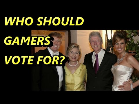 Who Should Gamers Vote For?