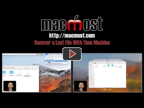Recover a Lost File With Time Machine (#1593)