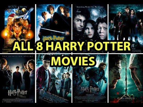 All 8 Harry Potter Movies Playing All at Once
