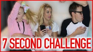 7 SECOND CHALLENGE! W/ JOJO SIWA & REBECCA ZAMOLO