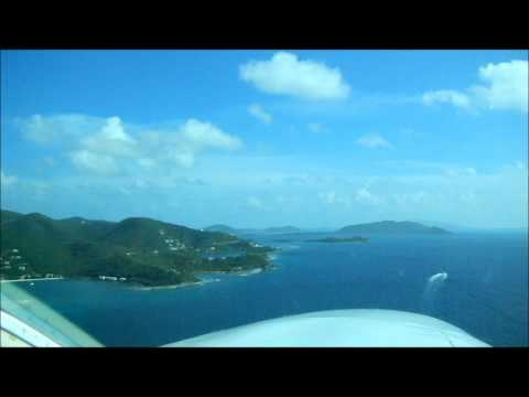 Cape Air flight from San Juan to Tortola.