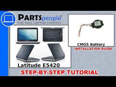 Dell Latitude E5420 CMOS Battery How-To Video Tutorial