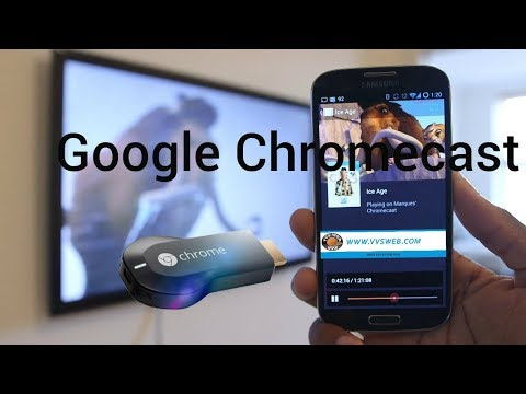 Google Chromecast unboxing and testing vvsweb.com