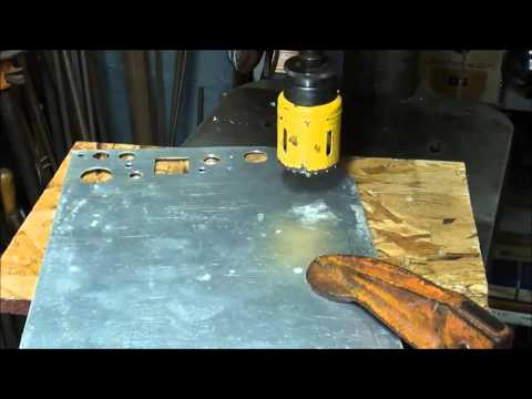 revised MACHINE SHOP TIPS #127 Cutting Holes in Sheet Metal Pt. 2 of 2 tubalcain