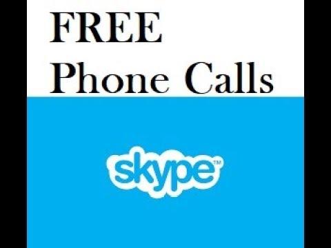 How To Make FREE Phone Calls using SKYPE
