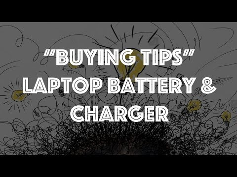 Watch this before buying Laptop Battery, Charger Adaptor
