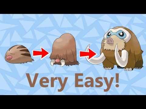 Pokemon SoulSilver how to get mamoswine easy tutorial