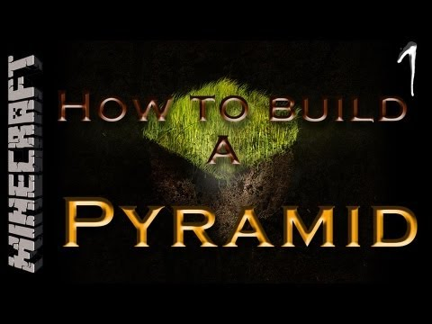 Minecraft HTB #01 | How To Build a Pyramid