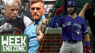 Conor McGregor SIGNS to Fight Mayweather, Kevin Pillar SUSPENDED for Homophobic Slur -WeekEnd Zone