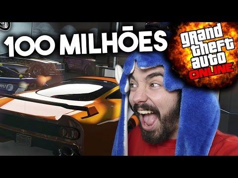 GTA V ONLINE PC #79 + DE 100 MILHÕES EM VEÍCULOS !