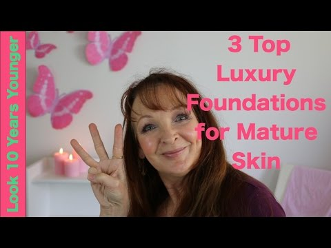 The 3 Top Luxury Foundations for Mature Skin