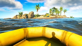 THE NEW RAFT GAME! (Stranded Deep)