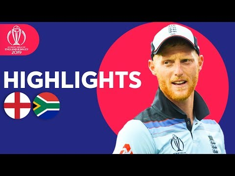 Xxx Mp4 Stokes Stars In Opener England Vs South Africa ICC Cricket World Cup 2019 Match Highlights 3gp Sex
