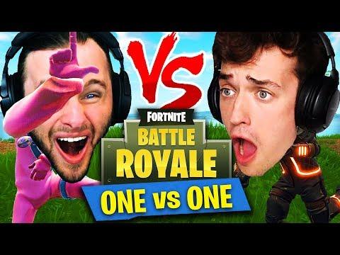 *ONE VS ONE* in Fortnite: Battle Royale! (SSundee vs Crainer)