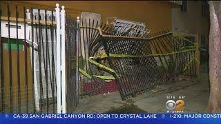 Car Careens Into Duplex In South LA, 3 Hurt