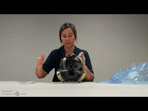 Comment mettre le masque qui couvre tout le visage