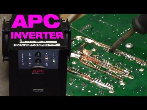 Smart-UPS 1500 12 V inverter hack revisited & upgraded