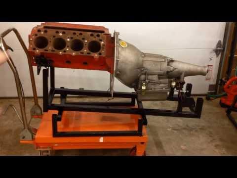Deep N Hock Racing   The Black Car   Engine Cradle   140314