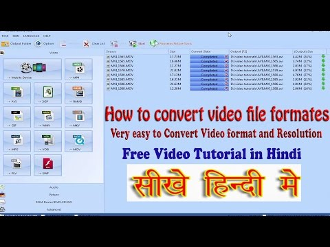 How to convert video file formats