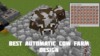Cow Farm In Minecraft 1 13 - All About Cow Photos
