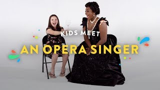 Kids Meet an Opera Singer | Kids Meet | HiHo Kids