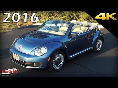2016 Volkswagen Beetle Convertible - Ultimate In-Depth Look in 4K