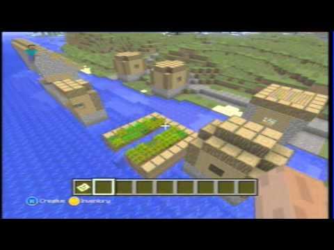 Minecraft SLENDERMAN's VILLAGE SEED! - Xbox 360 ( TU12 )
