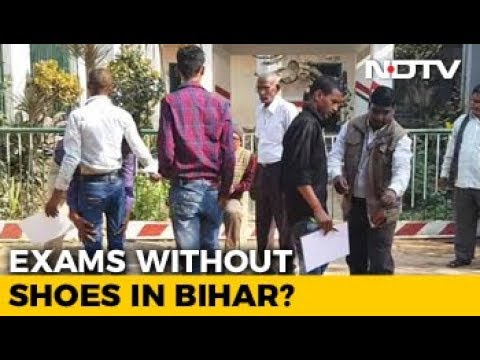Ban On Shoes, Bihar Students Wear Slippers To Write Class 10 Exams
