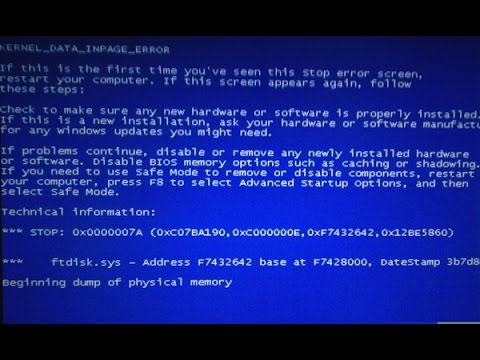 How to Check & Fix Windows PC Restart & Blue Screen Problem (Windows 10, 8.1,7)