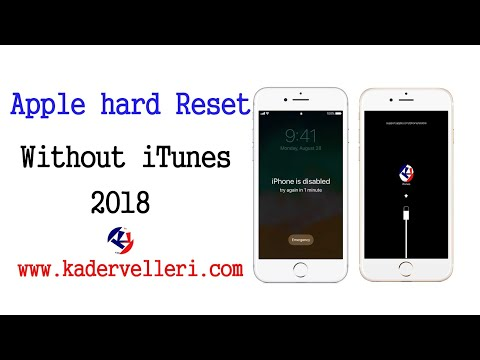 How to format iPod if iPad is disabled (without iTunes)