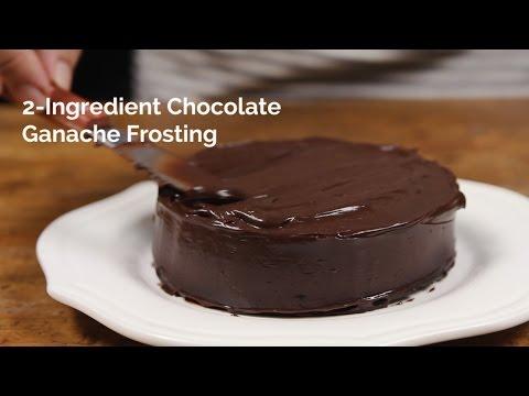 2-Ingredient Chocolate Ganache Frosting | Yummy Ph
