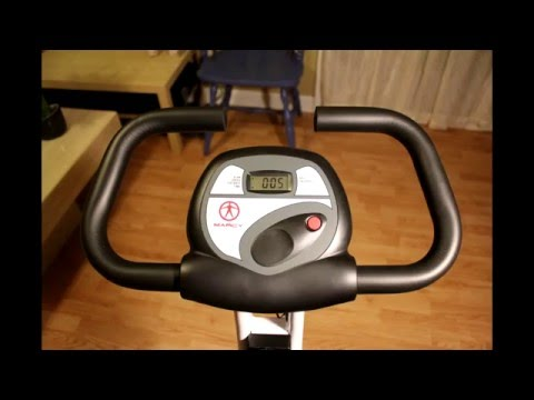 Marcy Foldable Exercise Bike review - under $130 exercise bike.