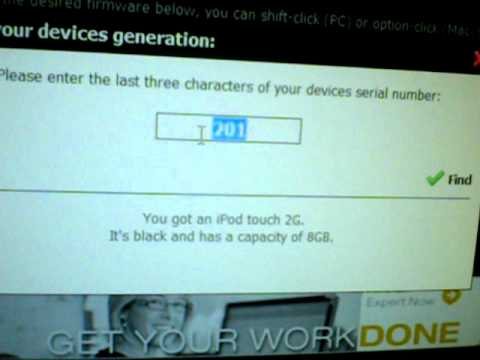 How to find out what Generation your iPod Touch/ iPhone is