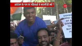 JNU students used objectionable words against Zee News in 'Parliament March'