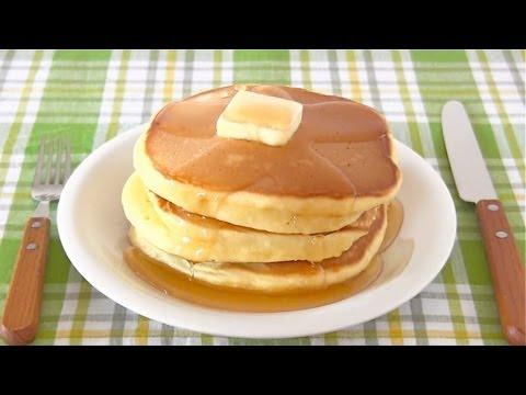 How to Make Hot Cake (Japanese Pancakes Recipe)   OCHIKERON   Create Eat Happy :)