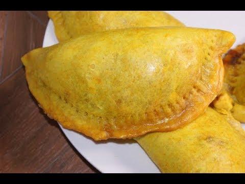 JAMAICAN CHICKEN OR BEEF PATTIES RECIPE IN URDU / HOW TO MAKE CHICKEN PATTIES IN JAMAICAN STYLE