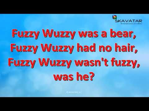 Tongue Twister: Fuzzy Wuzzy was a bear | 92% FAIL Trying