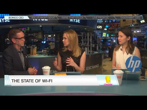 Boingo on Cheddar Closing Bell