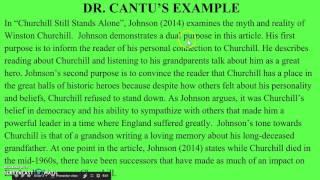 Writing Article Summaries