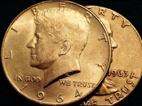 Kennedy Half Dollars: 1964 - 90% Silver