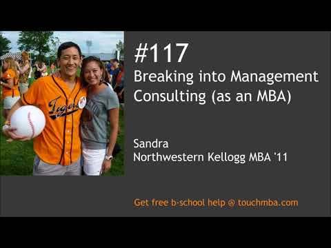 Breaking into Management Consulting (as an MBA)