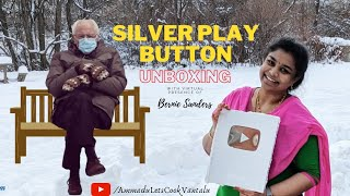 Unboxing Silver Play Button   My Creator Award   My YouTube Journey   Bernie Sanders  