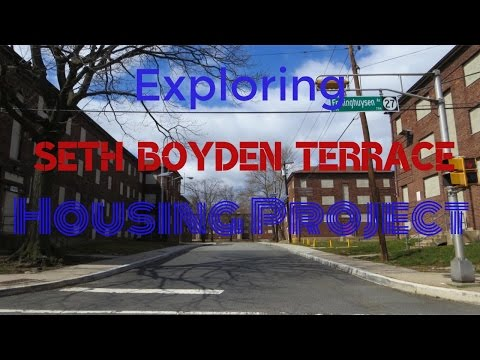Exploring Seth Boyden Housing Projects in Newark, New Jersey