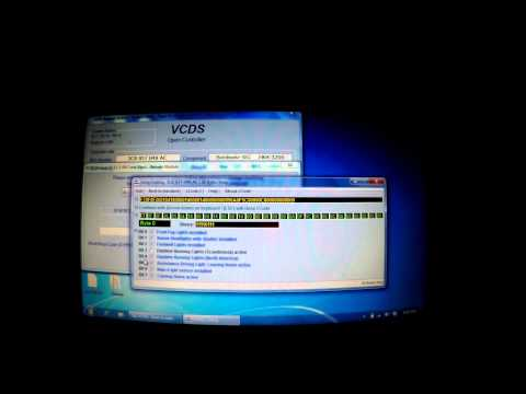Basics to VCDS / vag-com, fault codes, coding, output tests