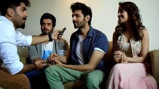Best interview with the cast of sonu ke titu ki sweety |Nushrat bharucha |kartik aryan| Sunny Singh|