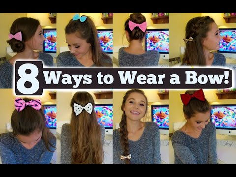 8 Ways to Wear A Hair Bow