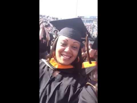 My graduation  masters in nursing education