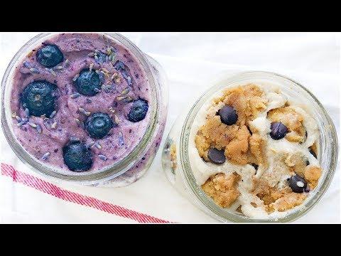 HEALTHY ICE CREAM! Dairy Free Vegan Ice Cream Recipes