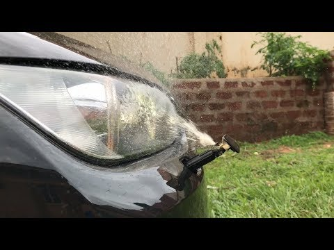 BMW HEADLAMP WASHER💦  | How to activate the washer and automatic headlights  BMW 3 Series 2005👆🏾